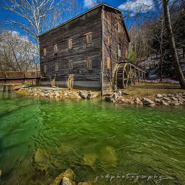 Wolf Creek Grist Mill at Mohican State Park